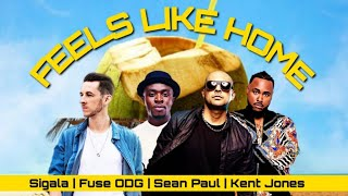 sigala fuse odg sean paul   feels like home ft kent jones audio