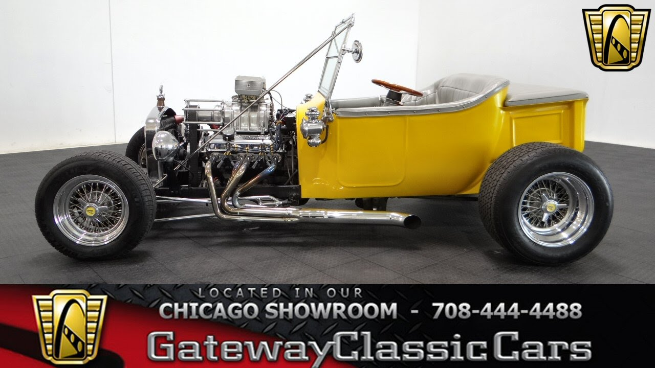 1923 Ford T Bucket Gateway Classic Cars Chicago #996 - YouTube