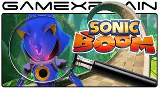 Sonic Boom Analysis - Sonic Boom 2014 Trailer Wii U & 3DS (Secrets & Hidden Details)