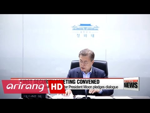 New S. Korean administration's response to N. Korea's missile test