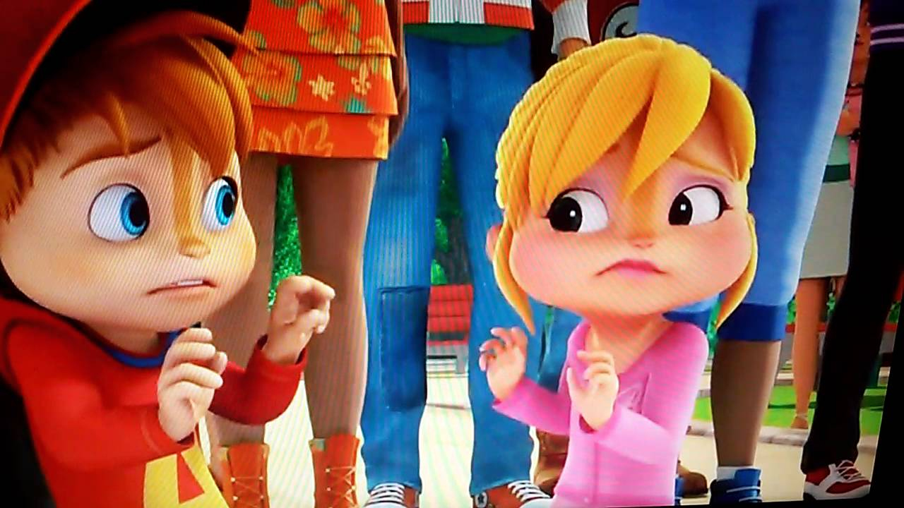 Alvinnn And The Chipmunks Brittany And Alvin alvin & brittany caught holding hands❤💜💙💚