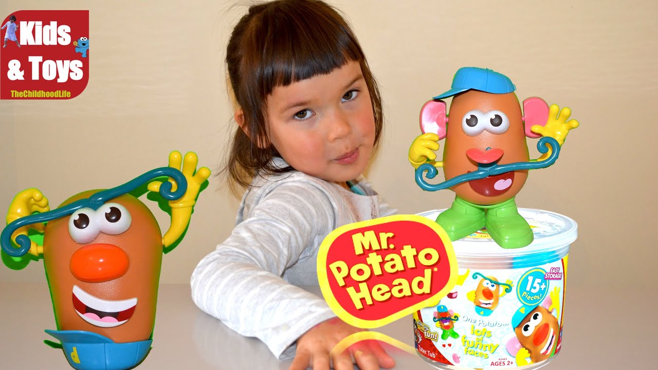Toy Story Mr Potato Head Playset Make funny Mr Potato Head faces
