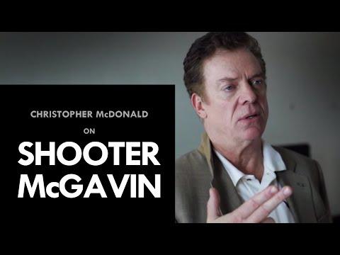 Christopher McDonald on Shooter McGavin