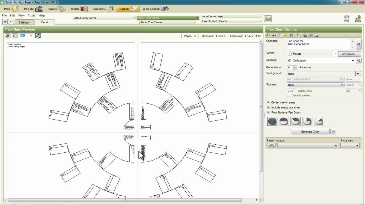 free family tree chart maker