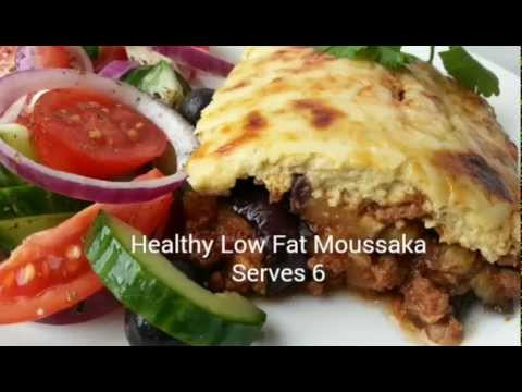 Healthy Low Fat Moussaka - Low Fat Recipes