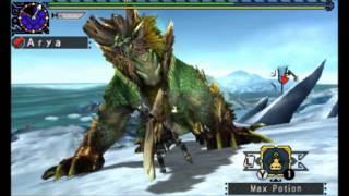 [MHX] Arya vs. Lv2 Variant Zinogre (09'27''96)
