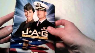 Unboxing of JAG Season 10 DVD