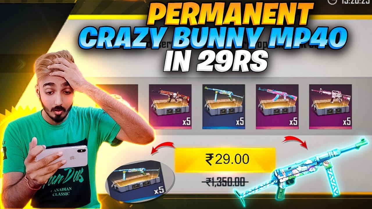 First Time Got Bunny MP40 Airdrop ❤️ क्या मुझे मिलेगा ? Permanent Bunny mp40 || Free Fire