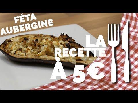 recette-À-5€-:-aubergine-gratiné-à-féta