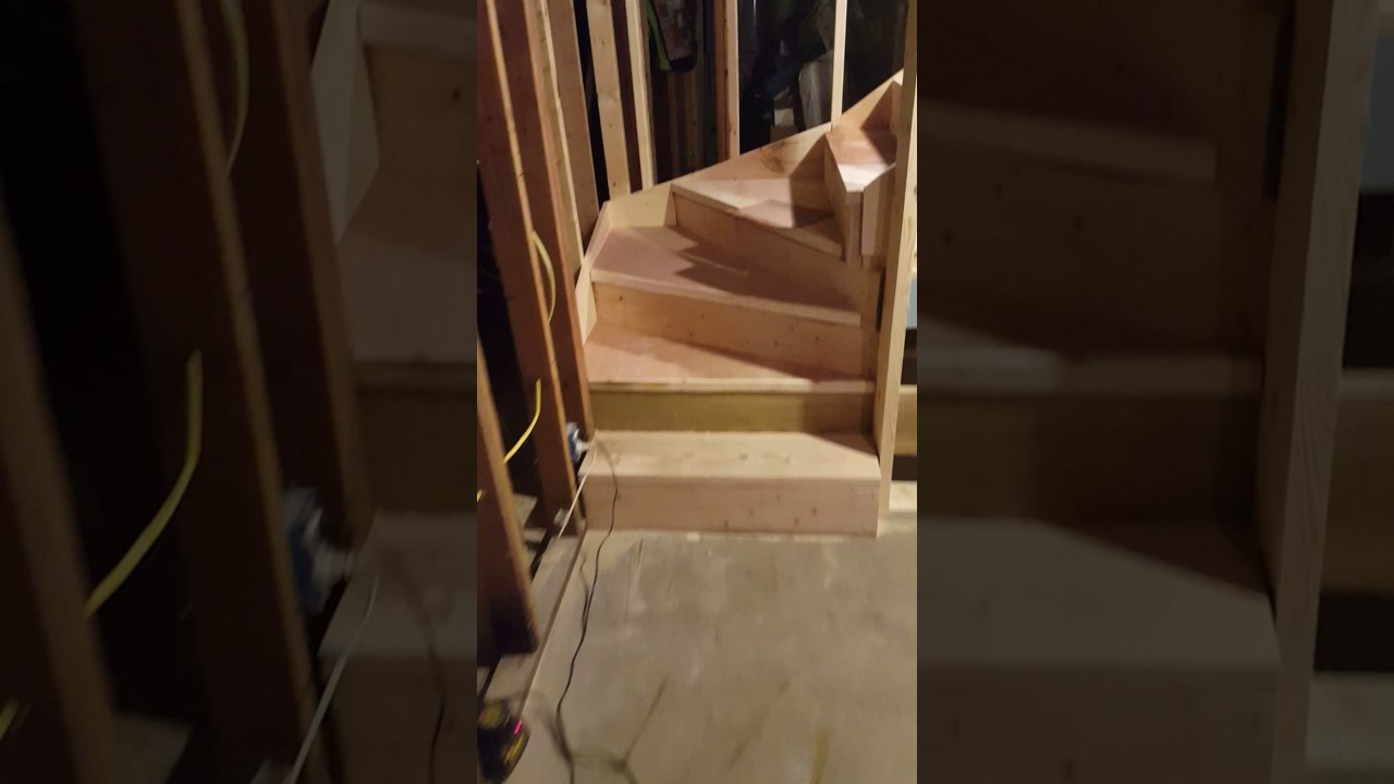 New Stairs And Entrance To Basement