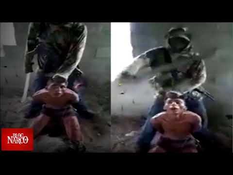 Sicario Del Cártel De Sinaloa Decapita En 5 Segundos A Joven Sicario Que Fue Interrogado