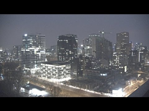 Live WebCam Night at Amsterdam 01/22/2017