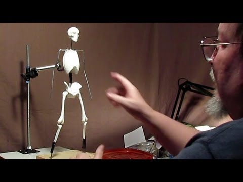 Sculpting With Lemon - Morning Joe - Starting the Armature