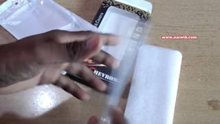 Chevron Transparent TPU Back Cover for Coolpad note 5 Unboxing