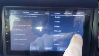 Подсветка кнопок китайской магнитолы Андроид
