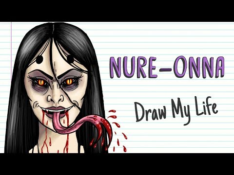 NURE-ONNA, THE JAPANESE LEGEND OF THE SNAKE WOMAN 🐍 Draw My Life
