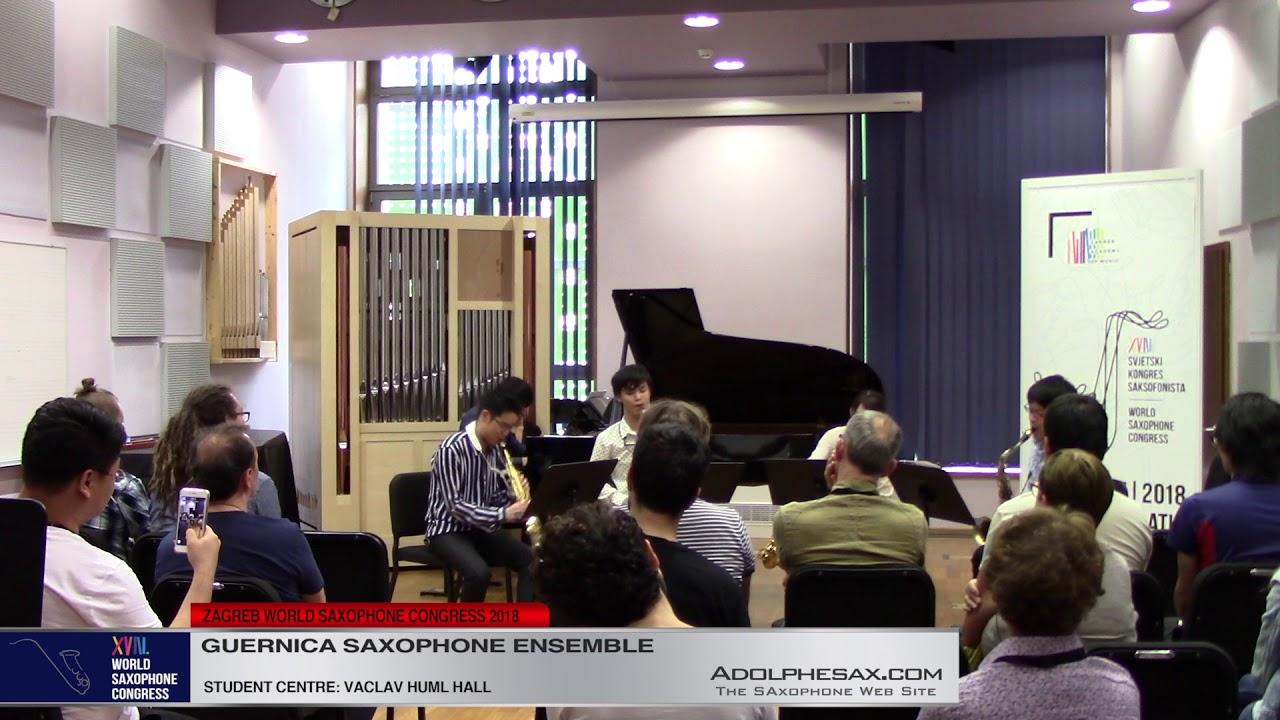 Euforbia by Koji Ueno   Guernica Saxophone Ensemble   XVIII World Sax Congress 2018 #adolphesax