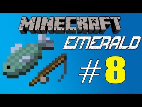 Minecraft Emerald - Episode 8 - Fishing pool