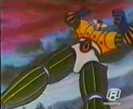 Jeeg robot d acciaio action figure statue e gadget da