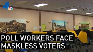 Poll Workers Face Unique Chall…