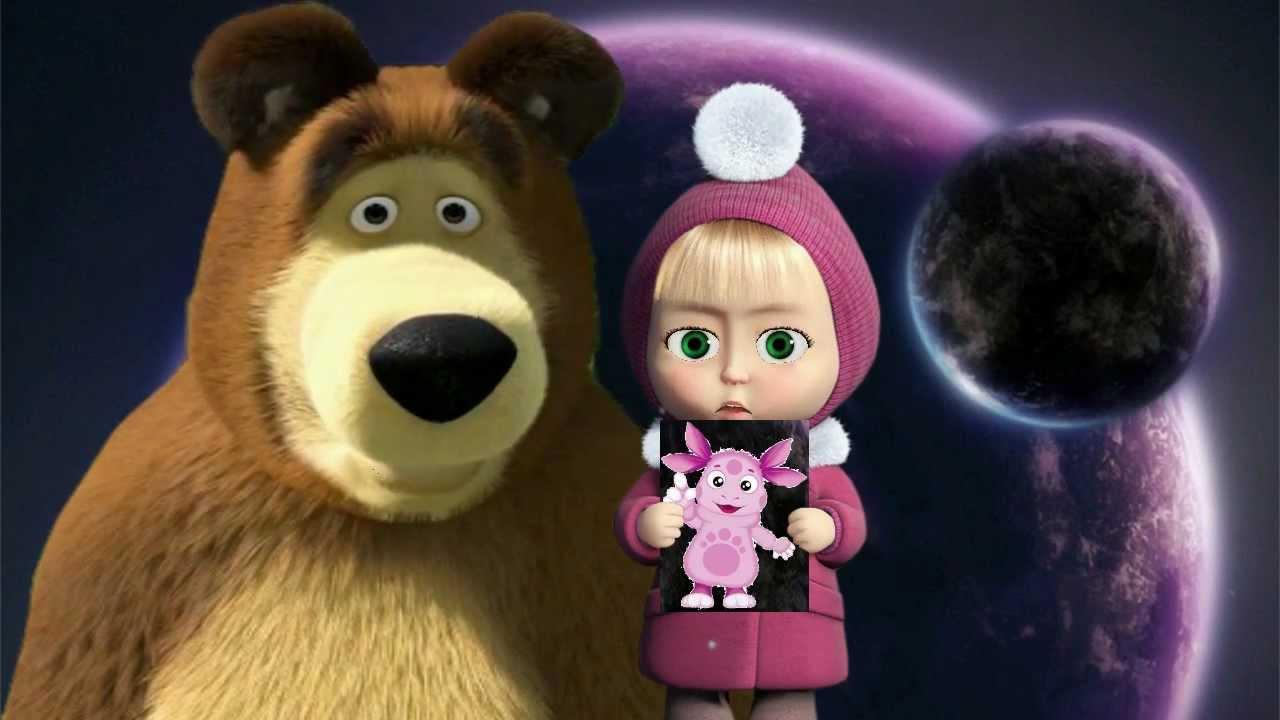 Маша и Медведь - В гостях у сказки (Серия 54) - YouTube