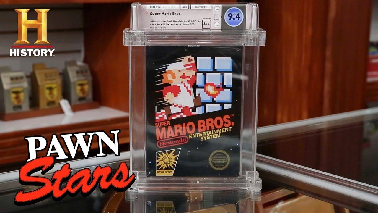 Download Pawn Stars: SUPER RARE Super Mario is SUPER EXPENSIVE (Season 17)   History