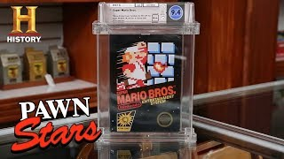 Pawn Stars: SUPER RARE Super Mario is SUPER EXPENSIVE (Season 17) | History