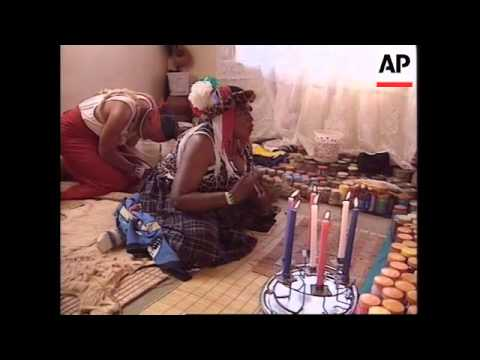 SOUTH AFRICA: SOWETO HEALER/FORTUNE TELLERS