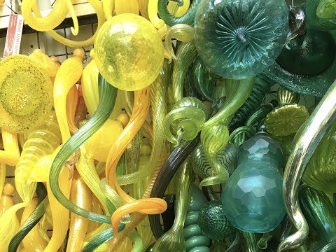 Inside Dale Chihuly's Studio: Glass Blowing Demo & Tour
