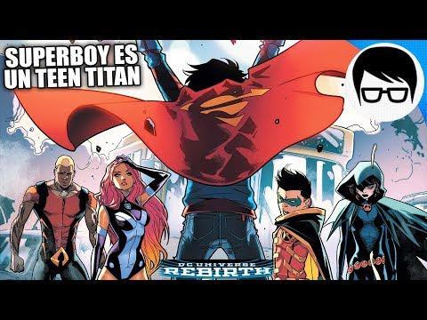 SUPERBOY Y LOS TEEN TITANS TRABAJAN JUNTOS | Super Sons Rebirth #7 | COMIC NARRADO