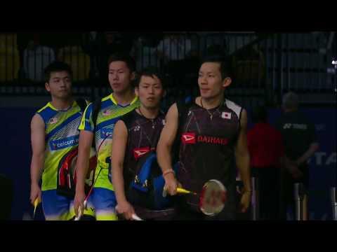TOTAL BWF Sudirman Cup 2017 | Badminton Day 4 Grp Stage – Grp 1C | JPN vs MAS