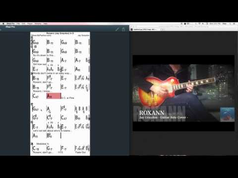Roxann Chords at MyPartitur - Jay Graydon