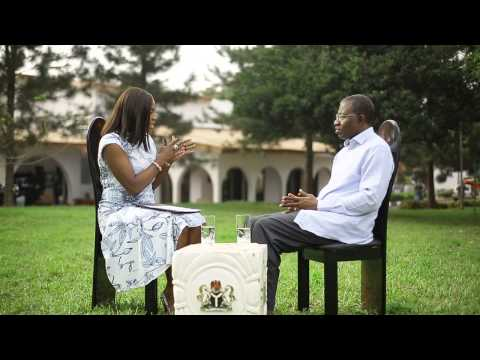 President Jonathan gets down to earth in this exclusive interview - EL Special