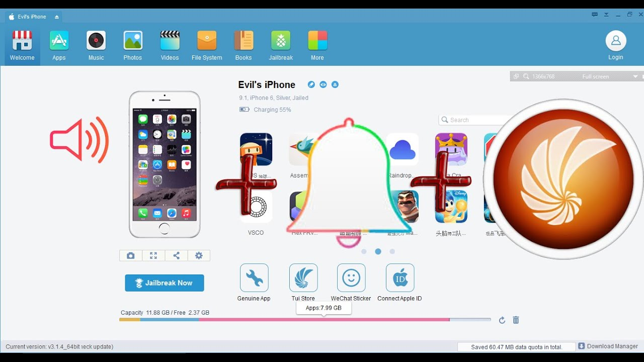 How to create and add ringtone to your iPhone Tongbu for iPhone, iPad, iPod  Touch - iOS 9 1/9 2