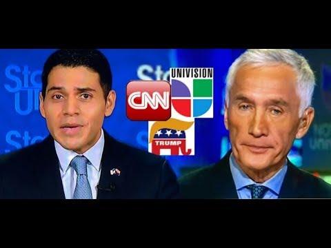 Republicano Inmigrante Latino *vs* Jorge RAMOS de UNIVISION.-