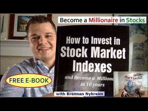 Become a Millionaire in Stocks: New Free Book Available Now! with Brennan Nykreim