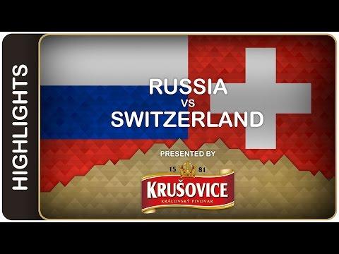 Ovechkin & Co. don't miss a beat - Russia-Switzerland HL - #IIHFWorlds 2016 - 동영상