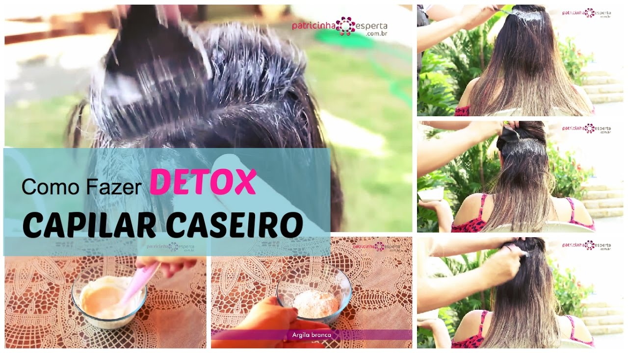 detox pro cabelo caseiro