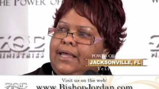 5 of 8: PROPHETIC TESTIMONIES - JACKSONVILLE FL. - MASTER PROPHET E BERNARD JORDAN