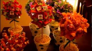 Centros de mesas muy dulces