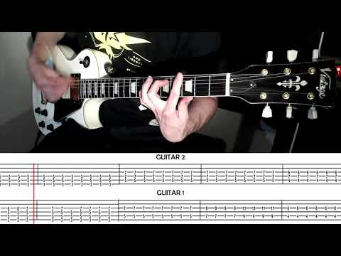 Thank You For The Venom - My Chemical Romance Guitar Cover With Scrolling Tabs