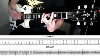 Thank You For The Venom My Chemical Romance Guitar Cover With Scrolling Tabs