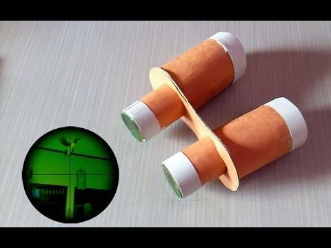 How To Make Binoculars Toy Youtube