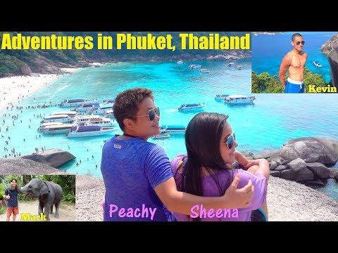 Peachy, Sheena and Paul Went to THAILAND! Our Trip to PHUKET THAILAND! Similan Islands