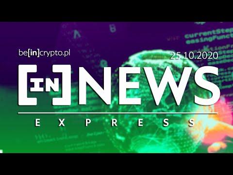 Środki KuCoin znalezione, UK wchodzi w BTC, Paypal i krypto - [in]NEWS Express - 25.10.2020