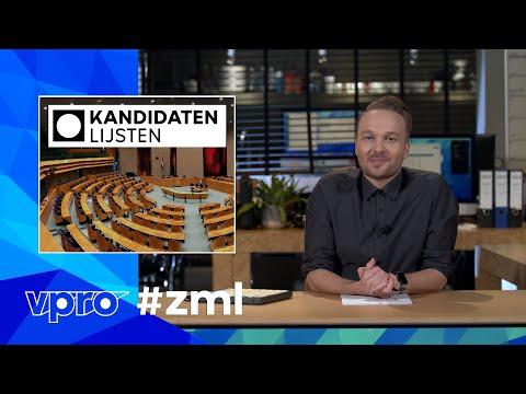 Kandidatenlijsten politieke partijen   Zondag met Lubach (S12)