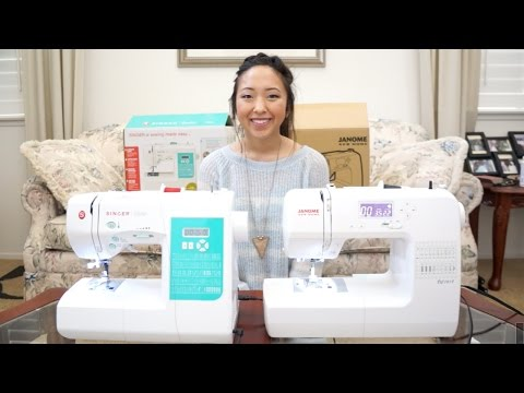 Sewing Machine Review/Comparison +GIVEAWAY!!