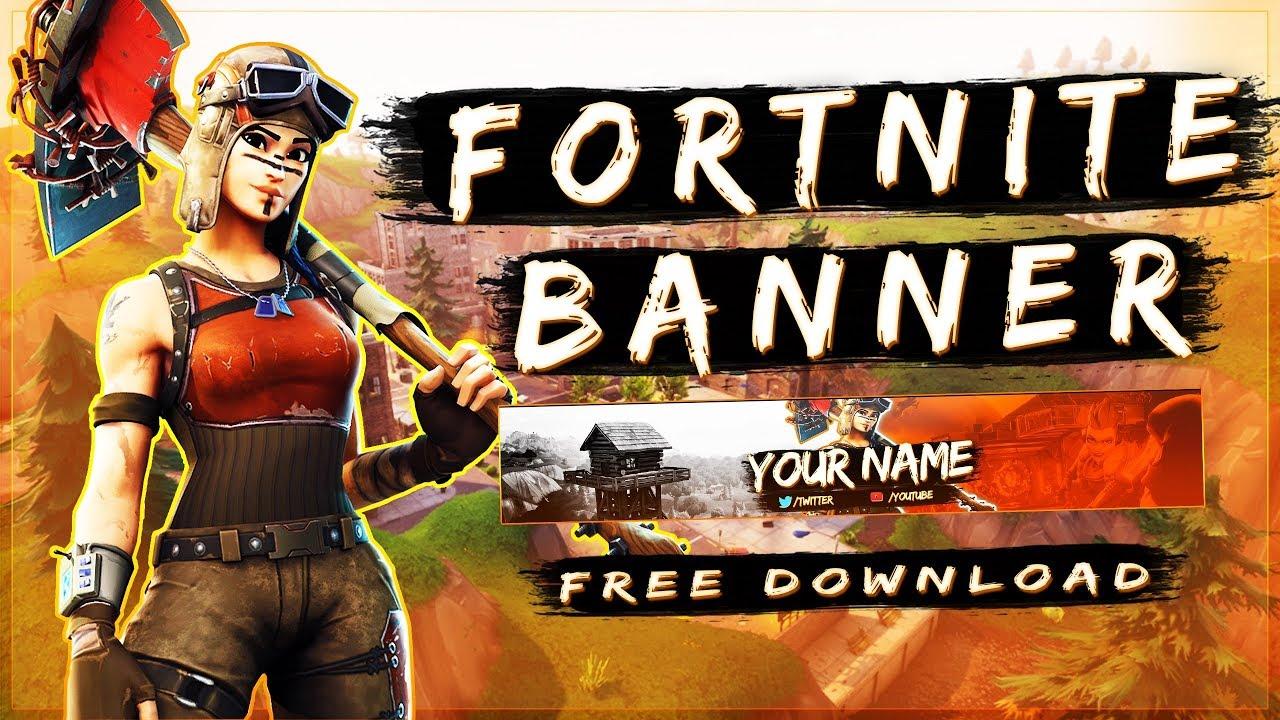 Best + Free Fortnite Banner Template | Photoshop CS6