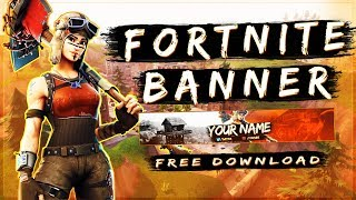 Best + Free Fortnite Banner Template | Photoshop CS6