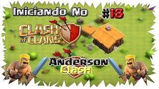 INICIANDO NO - CLASH OF CLANS! #18 ( LIBERANDO O GOLEM ) E ( UPANDO O REI )